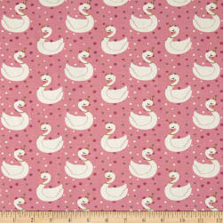 Stof France Stretch Jersey Knit Eloise Rose Fabric