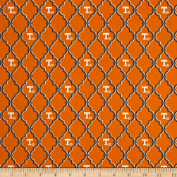 NCAA University of Tennessee Trellis Logo Allover Orange