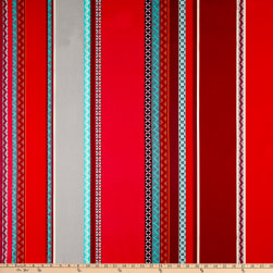 Stof Cretonne Santafe Rouge Fabric