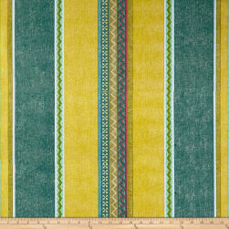 STOF France Cretonne Santafe Moutarde Fabric