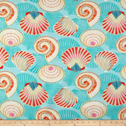 STOF France Mer Salines Multicolor Fabric