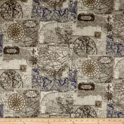 STOF France Mini Mapmonde Grey Fabric