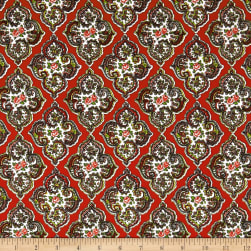 STOF France Provence Cavaillon Rouge Fabric