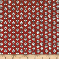 STOF France Provence Maillane Rouge Fabric