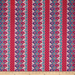 STOF France Valdrome Tarascon Framboise Fabric