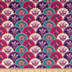 STOF France Valdrome Comtadine Framboise Fabric
