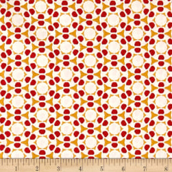 STOF France Mini Maui Red Fabric