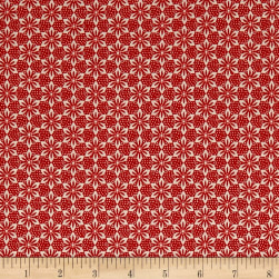 STOF France Mini Alison Rouge Fabric