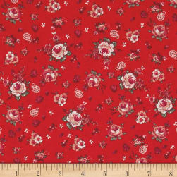 STOF France Mini Marjorie Corail Fabric