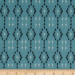 STOF France Mini Ikat Celadon Fabric