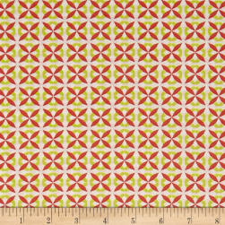 Stof Mini Wilma Jaune Rose Fabric