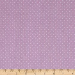 Stof Mini Plumetis Mauve Fabric