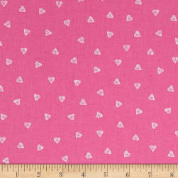 STOF France Mini Coeurinette Rose Fabric
