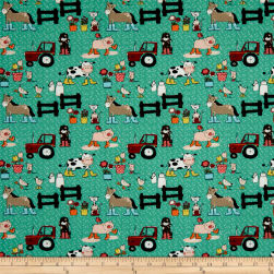 STOF France Enfant Octave Green Fabric