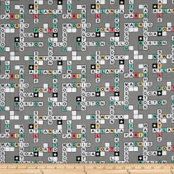 STOF France Enfant Scrabble Grey Fabric