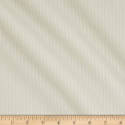 Classic Tone on Tone Stripe White/White Fabric