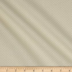 Classic Tone on Tone Floral Multi White/Tan Fabric
