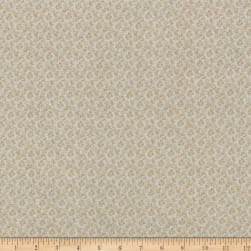 Classic Tone on Tone Vintage Floral Tan/Tan Fabric