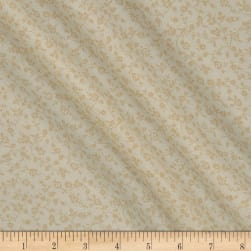 Classic Tone on Tone Floral Vine Tan/Tan Fabric