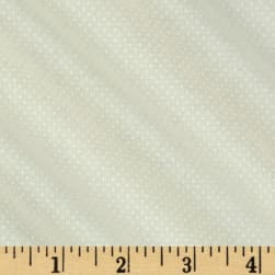 Pin Dots White/Tan Fabric