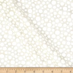 Tone on Tone White/Tan Fabric