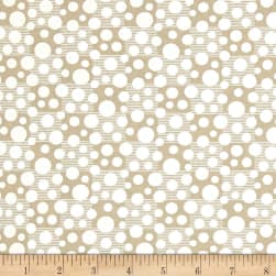 Tone on Tone White/Teastain Fabric