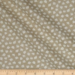 Tone on Tone Springs White/Teastain Fabric