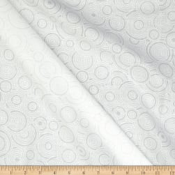 Get Back Circles White/White Fabric