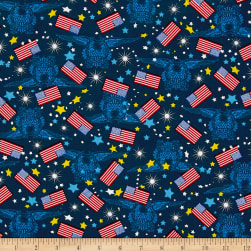 Made In The USA II Flags and Stars