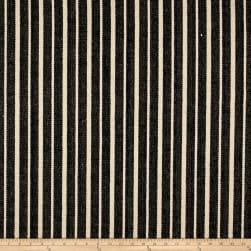 Stof France Ste Maxime Basketweave Noir Fabric