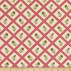 """108"""" Wide Traditional Quilts Roses Multi/Cream Fabric"""