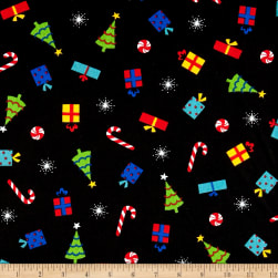 Christmas Cheer Novelty Multi Fabric
