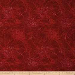 Branches Blender Red Fabric