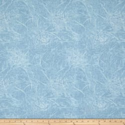 Branches Blender Light Blue Fabric