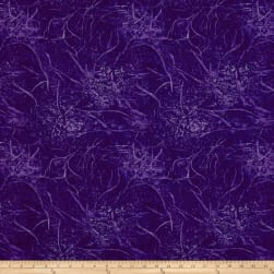 Branches Blender Purple Fabric
