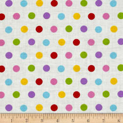Flower Power Dots Multi Fabric