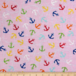Clear Sailing Pink Multi Fabric