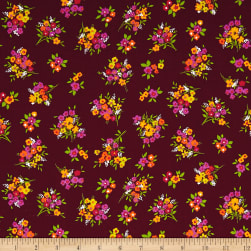 Botanical Garden Berry Fabric