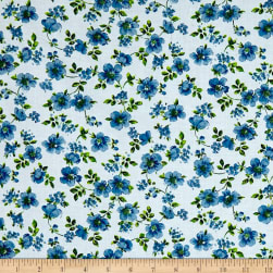 Botanical Garden Blue Fabric
