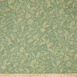 Santee Print Works Vintage Tapestry Floral Light Green