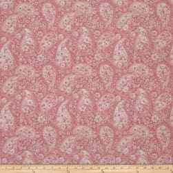 108'' Wide Back Paisley Pink Fabric