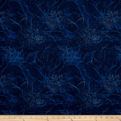 Branches Blenders Navy Fabric