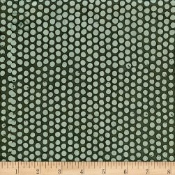 Island Batik Alpine Ice Gun Metal Fabric