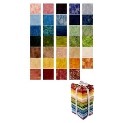 Kaufman Renoir Fat Quarter Bundle 34 Pcs Multi