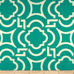 EXCLUSIVE Richloom Carmody Cotton Duck Turquoise