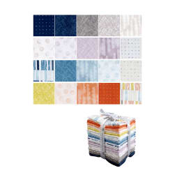 Kaufman Lou Lou Fat Quarter Bundle 20 Pcs
