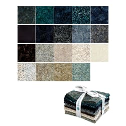 Kaufman Arboretum Batiks Fat Quarter Bundle 24 Pcs