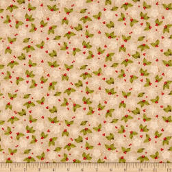 Sugar & Spice Foliage Beige Fabric