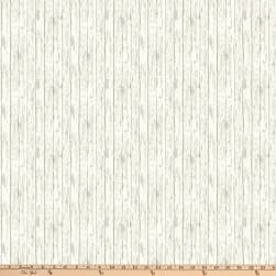 Enchanted Forest Woodgrain Texture Cream Fabric