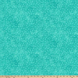 Festival Of Lights Tonal Stars Turquoise Fabric